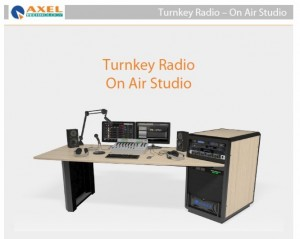TURNKEY RADIO STUDIO ON AIR & PRODUCTION - DIGITAL.PREŢ: 37.651 EU - Curs lei BNR